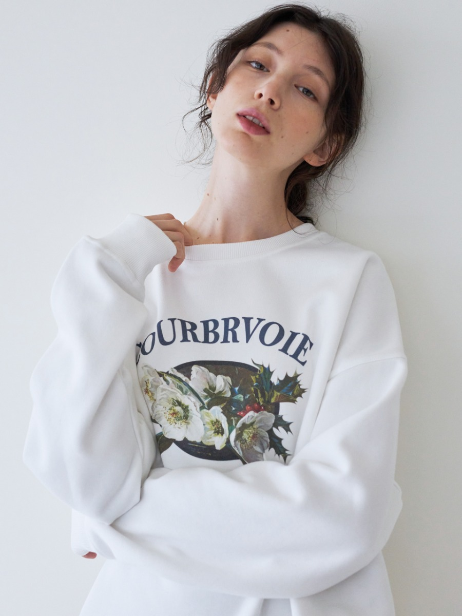 LTG7 COURBEVOIE SWEATSHIRT(WHITE)