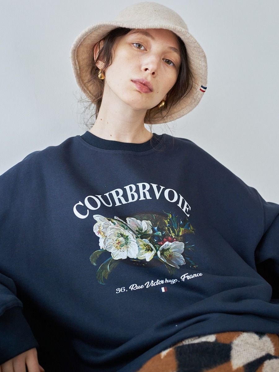 LTG7 COURBEVOIE SWEATSHIRT(NAVY)